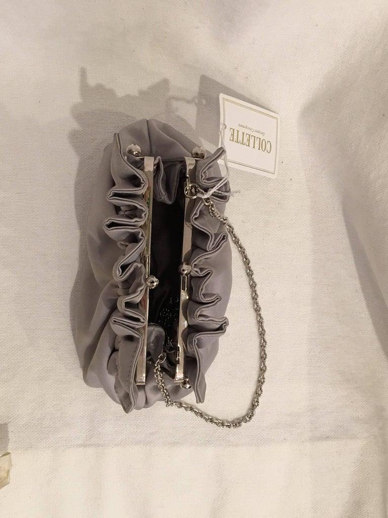 La Sera by Franchi Clutch In Excellent Condition For Sale In Bridgehampton, NY