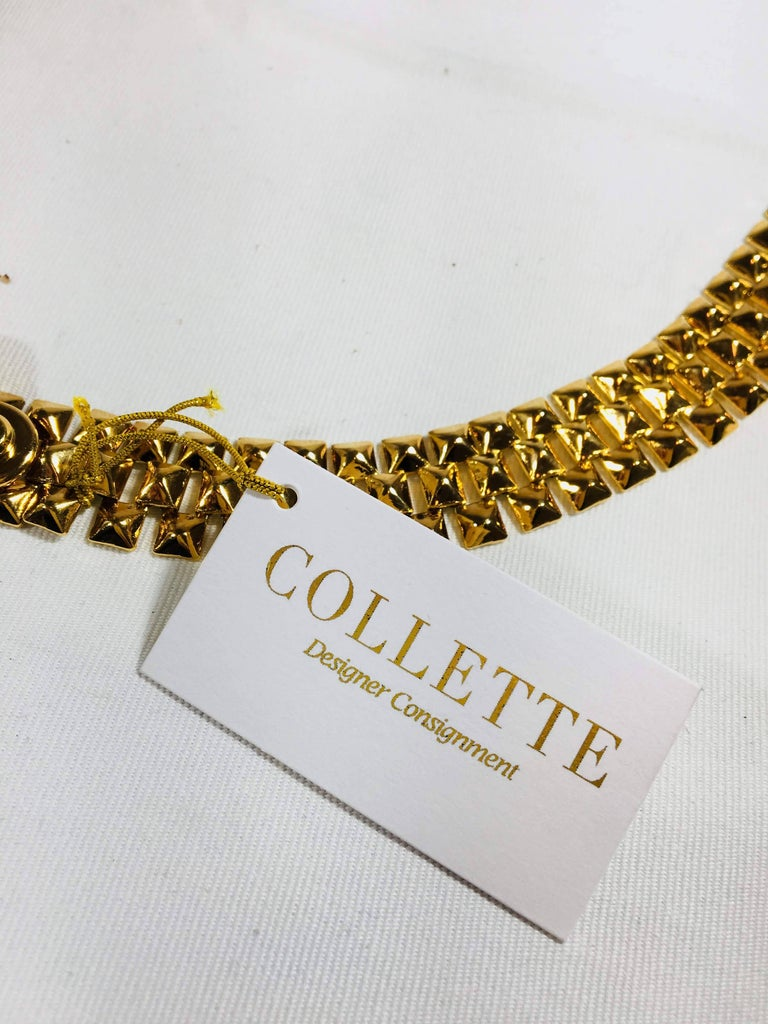 Women's or Men's Pucci Stud Link Belt For Sale