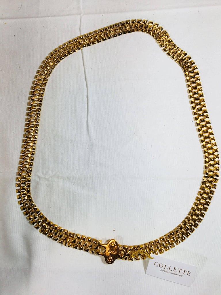 Pucci Stud Link Belt For Sale 2