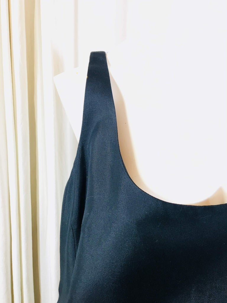 Prada Black  Sleeveless Dress  In Good Condition For Sale In Southampton, NY