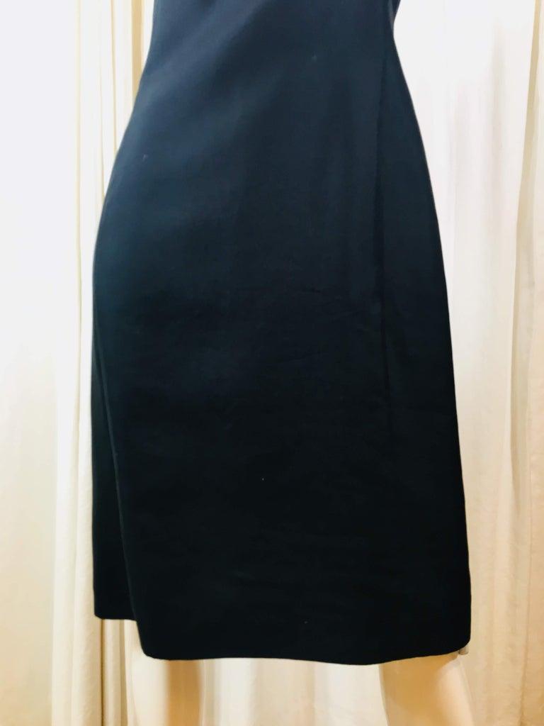 Women's Prada Black  Sleeveless Dress  For Sale