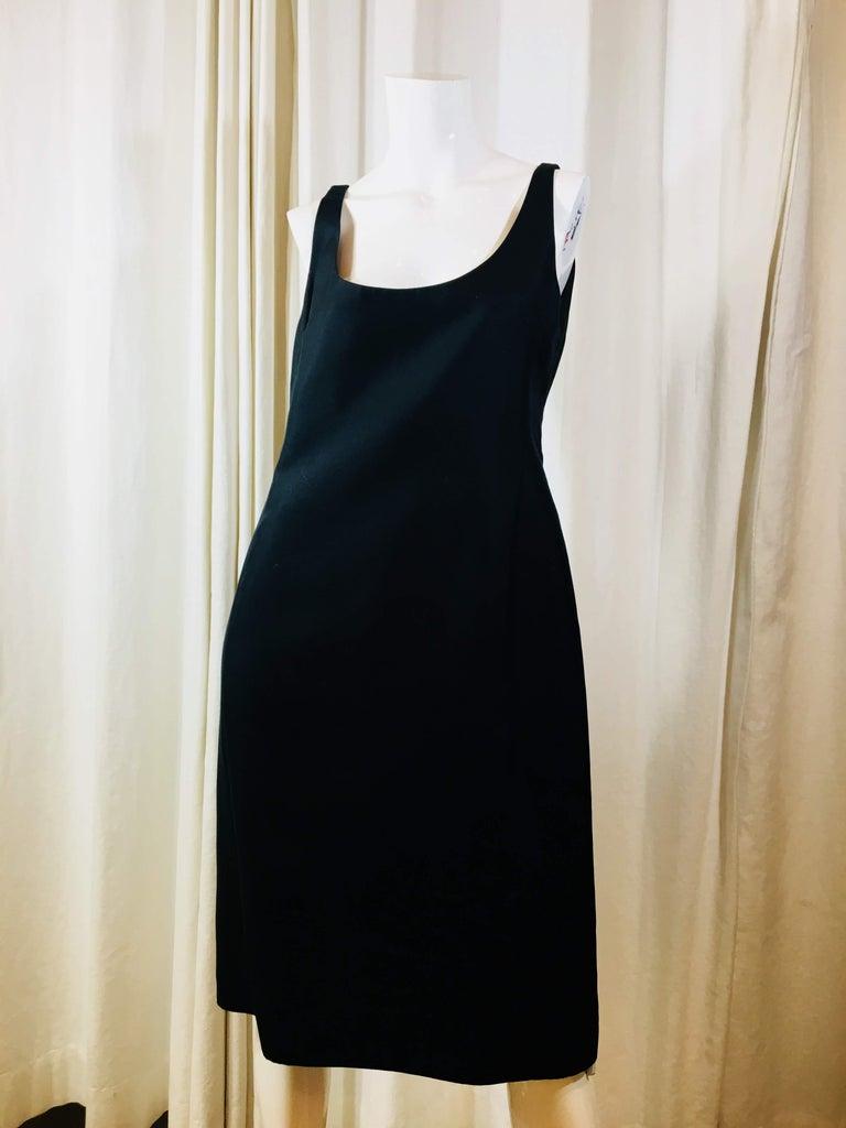 Prada Black  Sleeveless Dress  For Sale 1