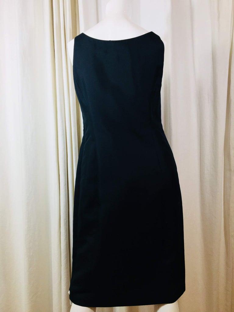 Prada Black  Sleeveless Dress  For Sale 2
