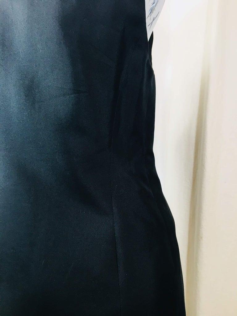 Prada Black  Sleeveless Dress  For Sale 3