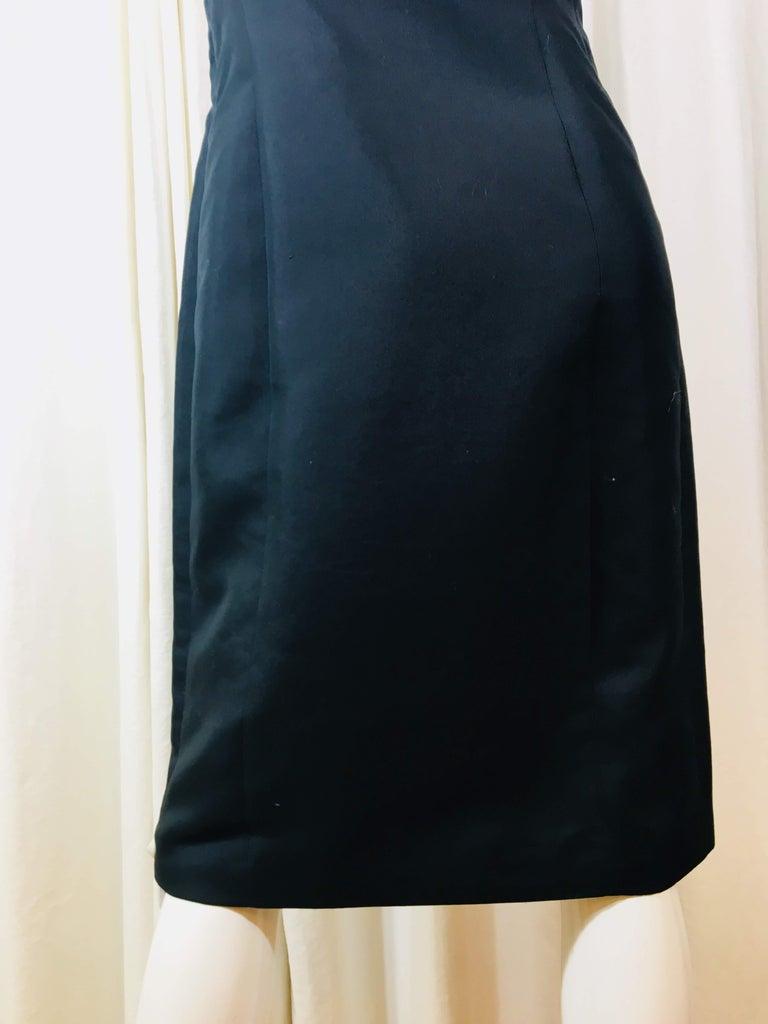 Prada Black  Sleeveless Dress  For Sale 5