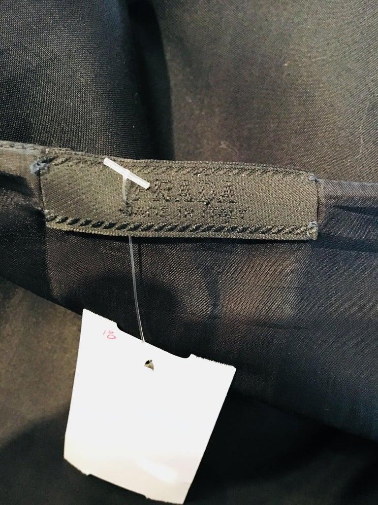Prada Black  Sleeveless Dress  For Sale 6