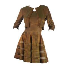 Alaia Knit Two Piece Dress