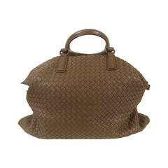 Bottega Veneta Intrecciato Woven Leather Bag