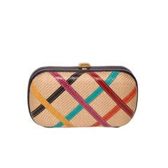 Bottega Venetta Multi Colored Clutch