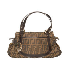 Brown Fendi Logo Bag