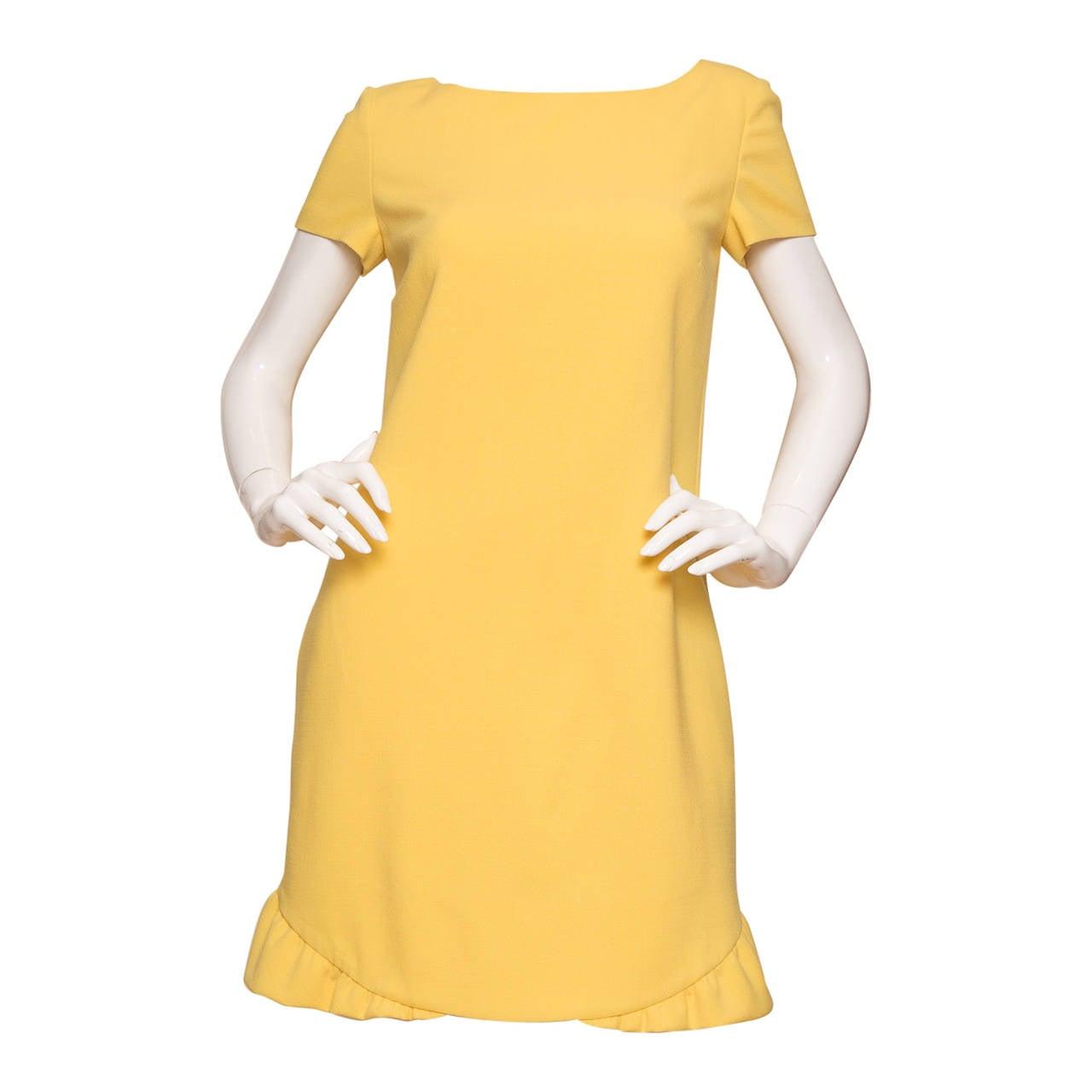 Pucci Yellow Dress