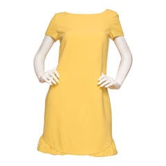 Pucci Yellow Dress