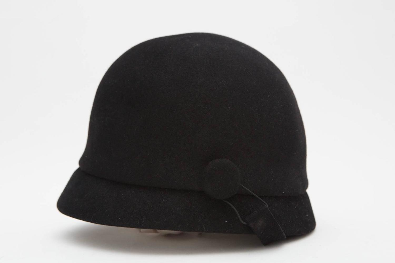 Balenciaga Black Riding Hat For Sale At 1stdibs