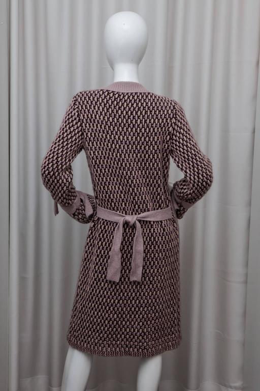 Missoni Pink Knit Sweater Coat 2