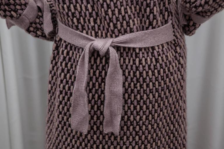 Missoni Pink Knit Sweater Coat 3