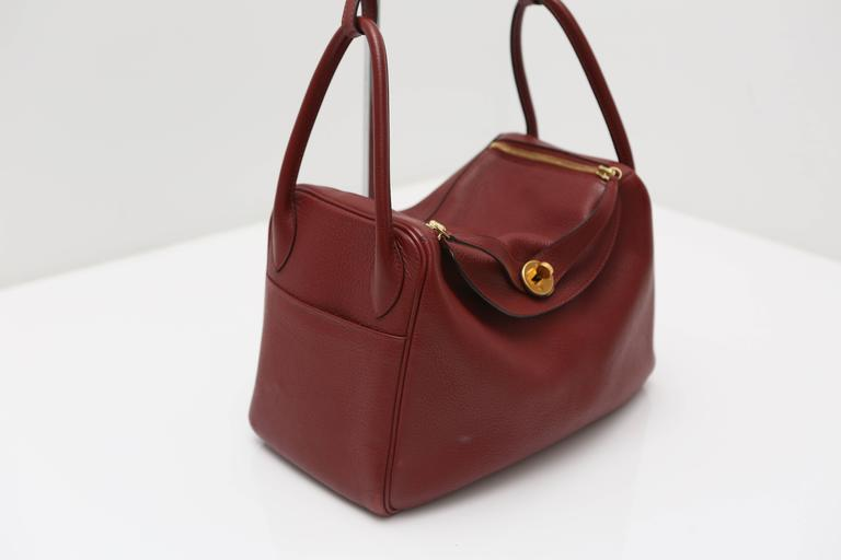 119ed29de44 The Hermes Lindy Bag is roomy enough to store all your essentials and it can  be