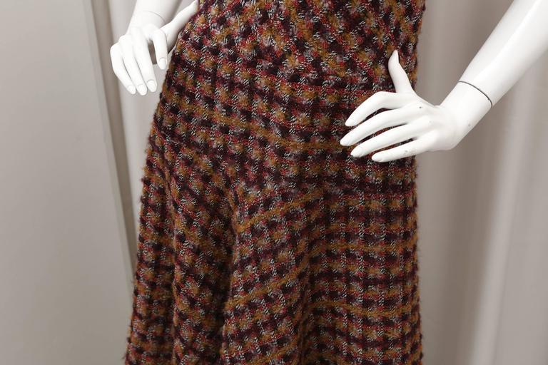 Oscar de la Renta Tweed Shift Dress 5