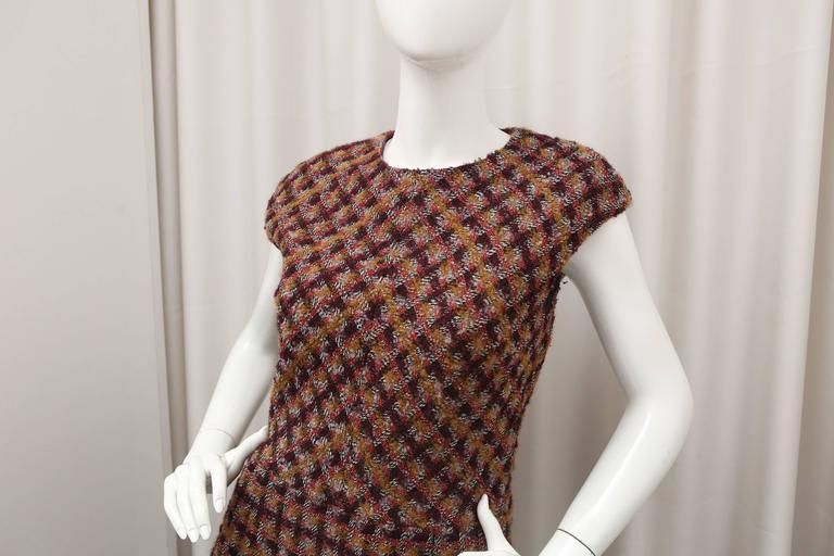 Oscar de la Renta Tweed Shift Dress 3