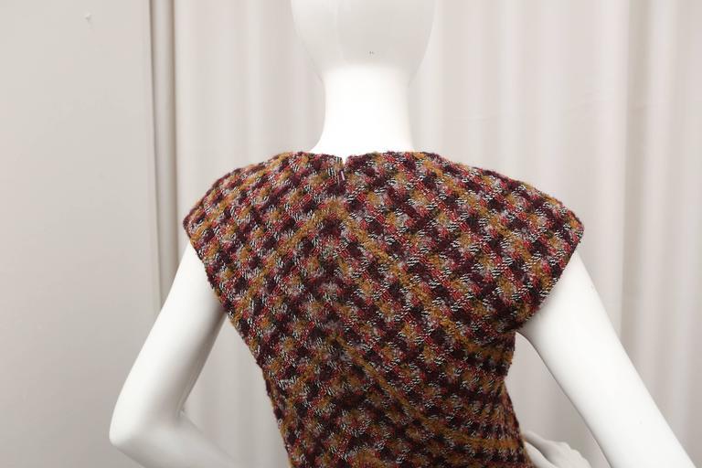Oscar de la Renta Tweed Shift Dress 2
