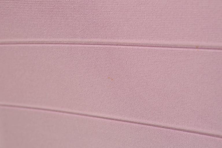 Herve Leger Lilac Short Sleeve Bandage Dress 4