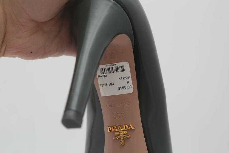 Prada Green Pumps  For Sale 2