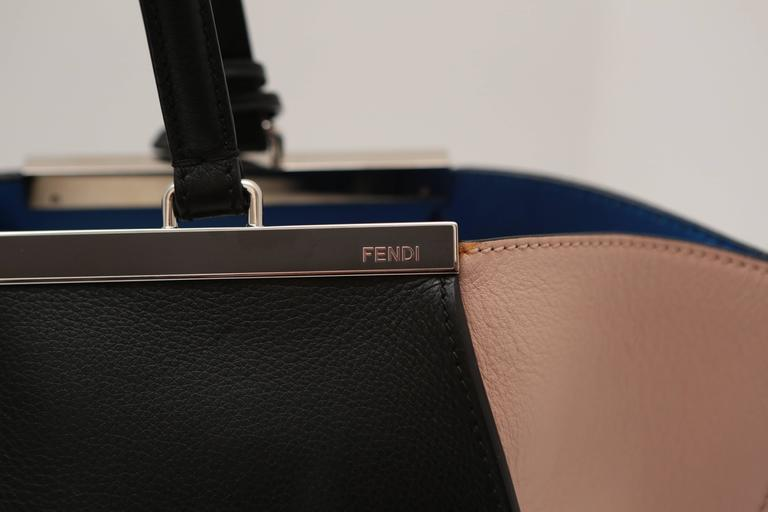 "Fendi Tri-Color ""3 Jours"" Bag For Sale 1"