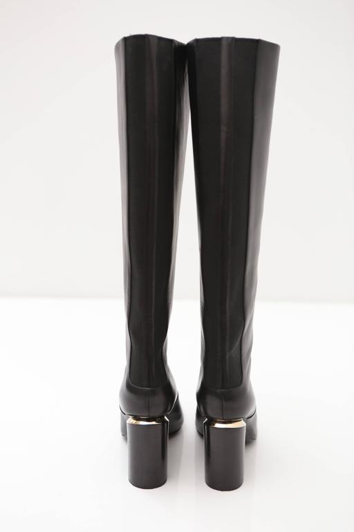 Women's Nicholas Kirkwood Black Knee High Boots For Sale