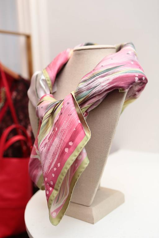 hermes quot feux de ciel quot silk scarf for sale at 1stdibs