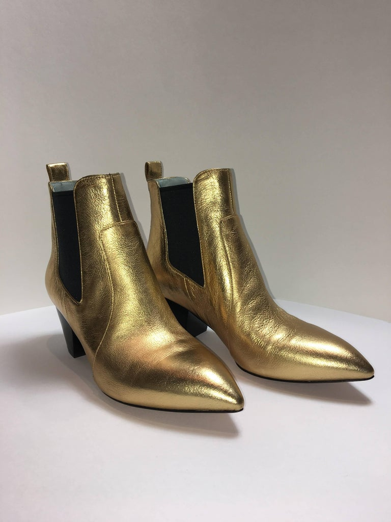Marc Jacobs Leather Bootie at 1stdibs