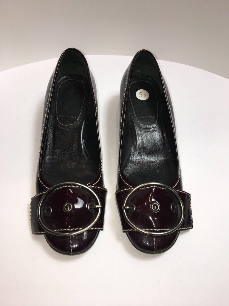 Black MiuMiu Kitten Heel For Sale