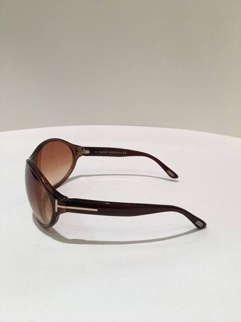 Tom Ford Brown Liya Sunglasses.