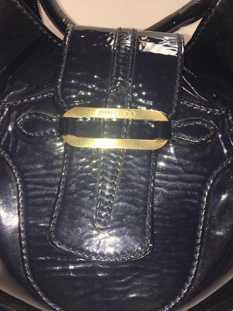 Black Jimmy Choo Tulita Shoulder Bag For Sale
