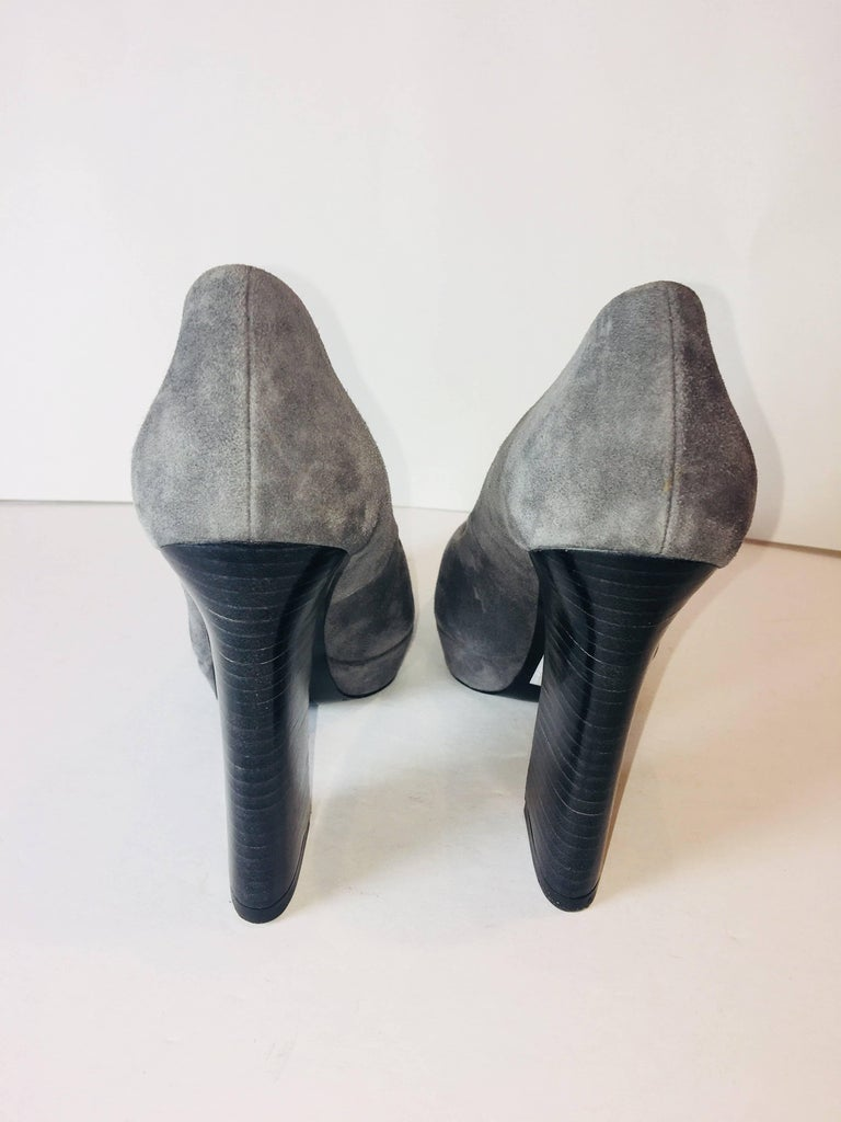Barbara Bui Platform Heels In Excellent Condition For Sale In Bridgehampton, NY