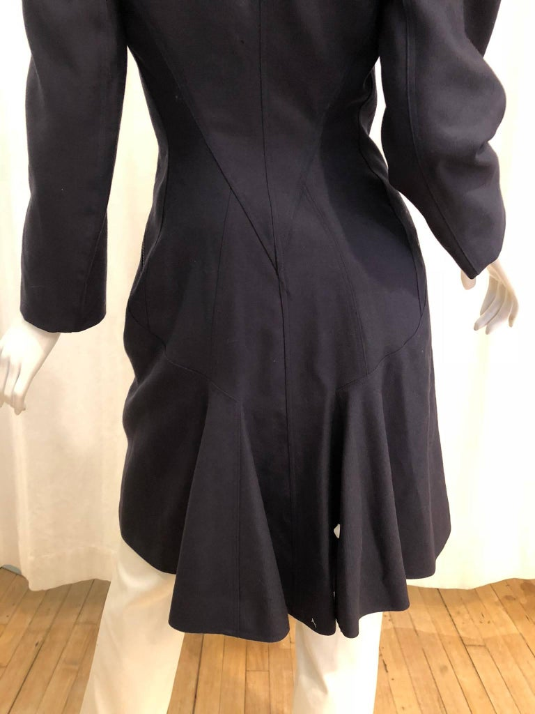Women's Alaia Double Breasted Coat For Sale