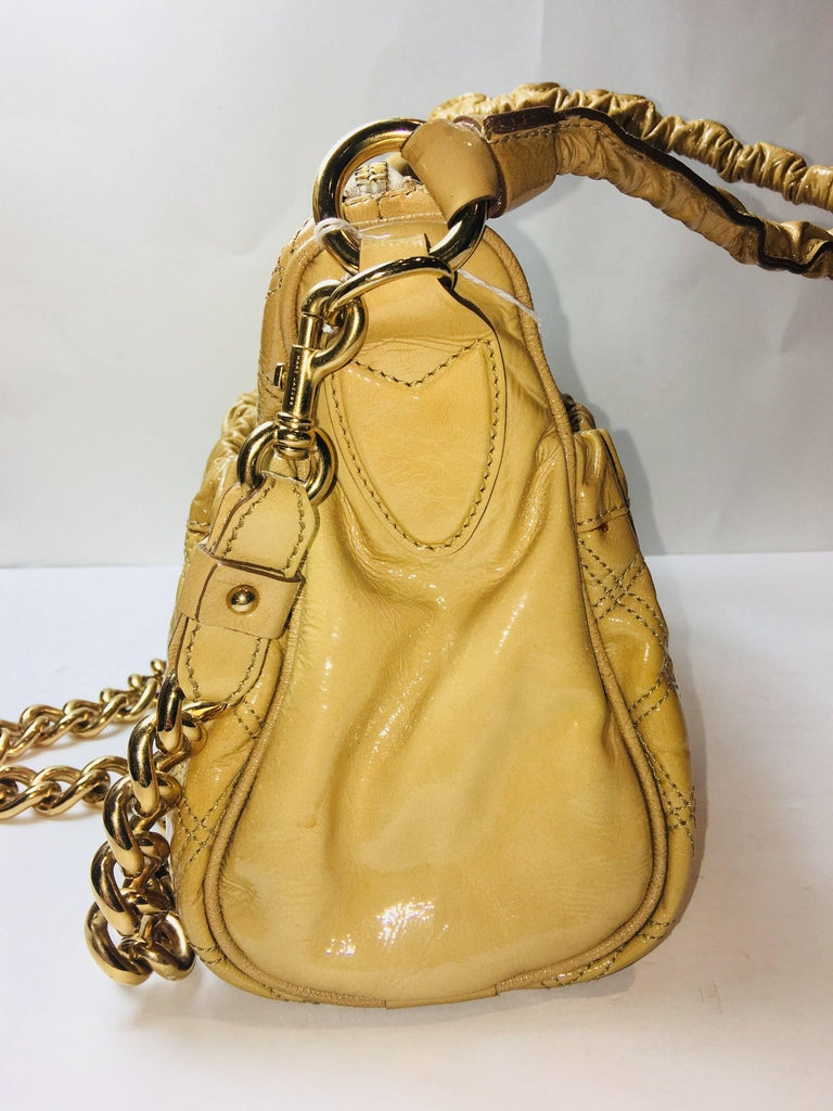 Marc Jacobs Patent Leather Bag In Excellent Condition For Sale In Southampton, NY