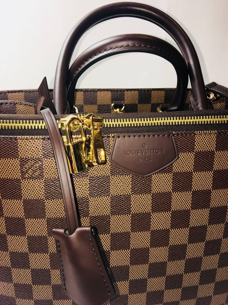 Louis Vuitton Double Handle Bag At 1stdibs