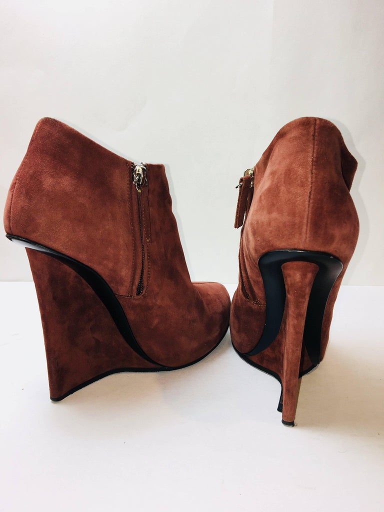 Women's Giuseppe Zanotti Suede Booties For Sale