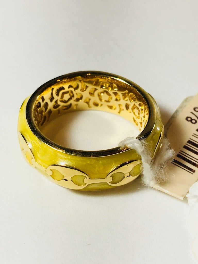 Vermeil Ring For Sale 2