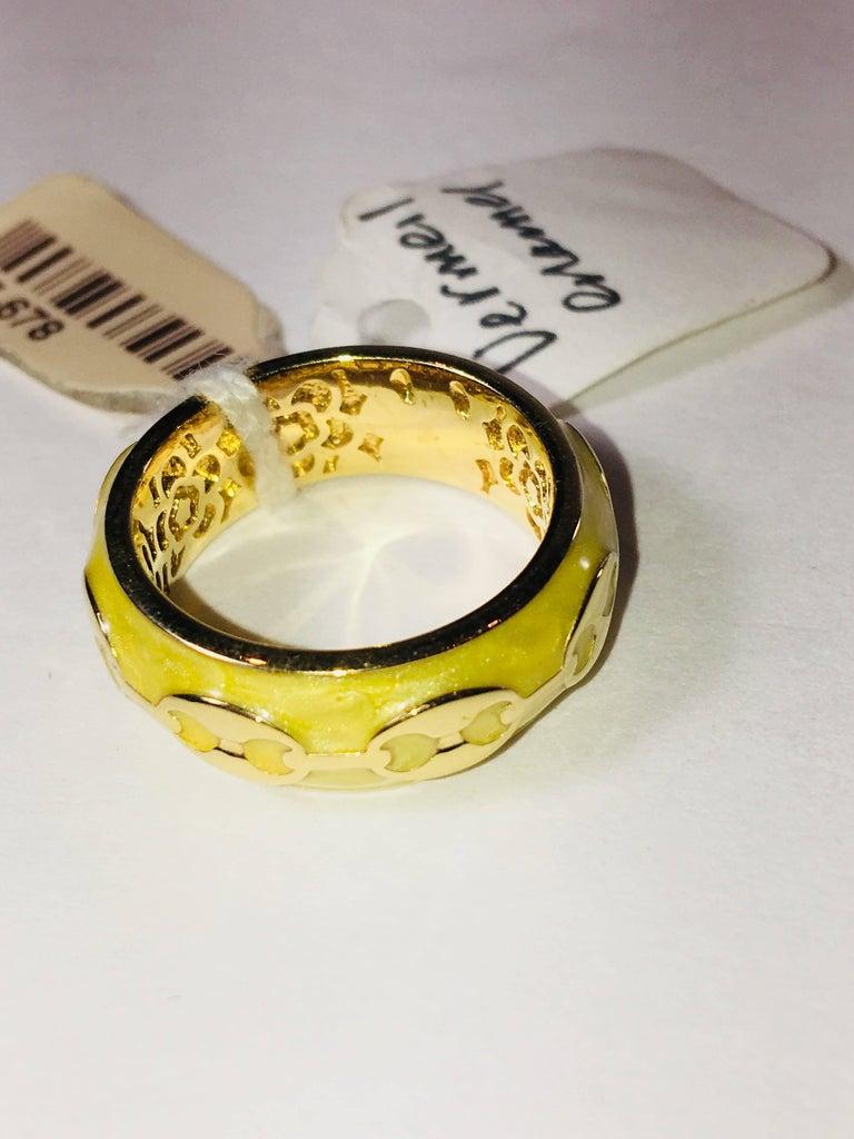 Vermeil Ring In Excellent Condition For Sale In Bridgehampton, NY