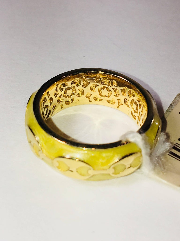 Vermeil Ring For Sale 1