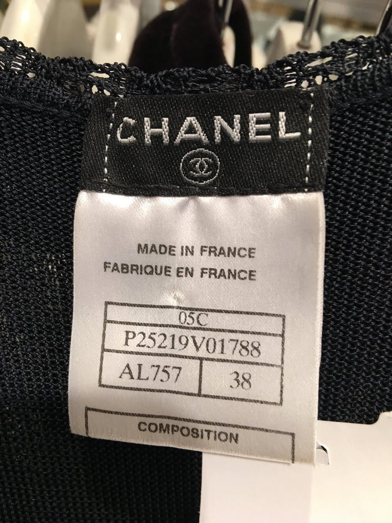 Chanel Knit Dress For Sale 4