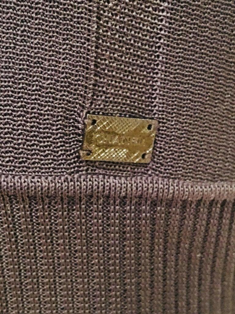 Women's Chanel Knit Dress For Sale