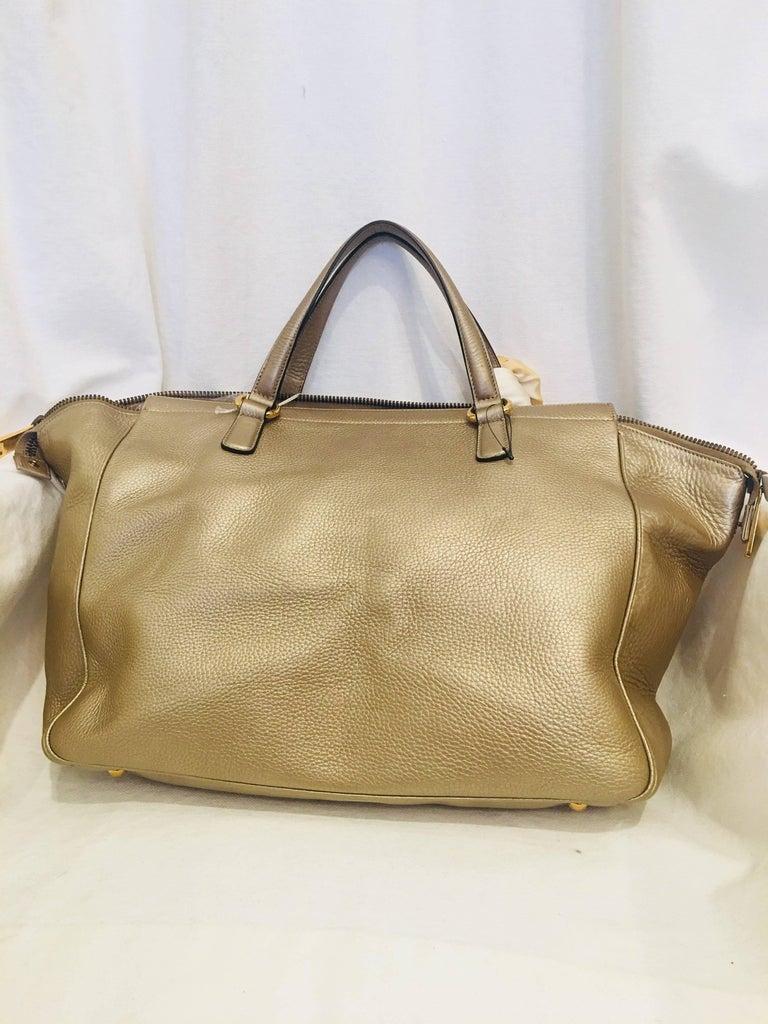 Gucci Leather Handbag For Sale 1