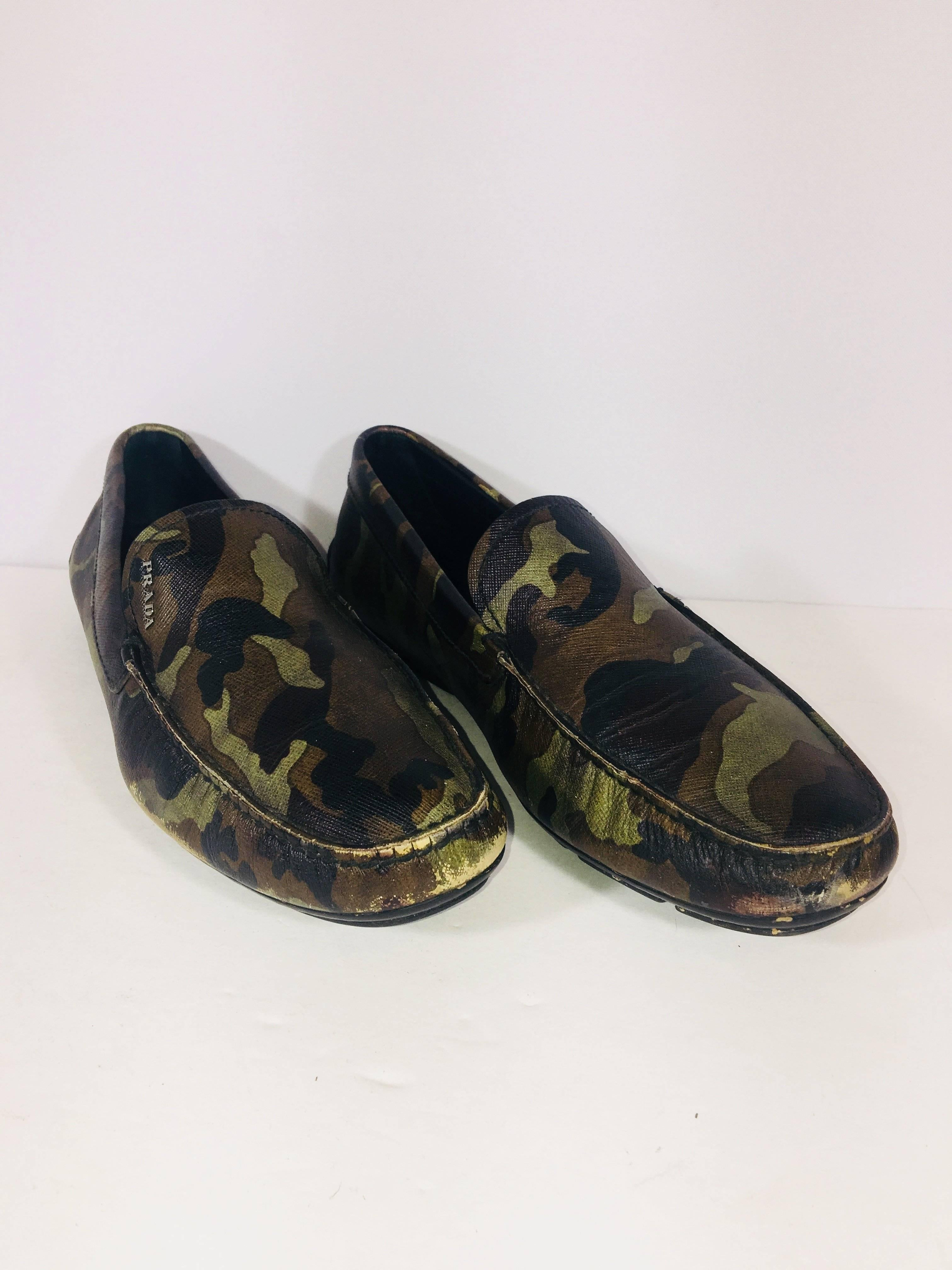 discount code for prada loafer shoes 1970s c9561 37e84