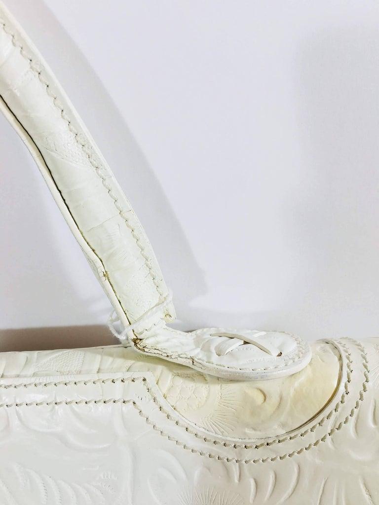 6044ef88bc5b Women s or Men s Fendi Floral Embossed Frame Bag For Sale