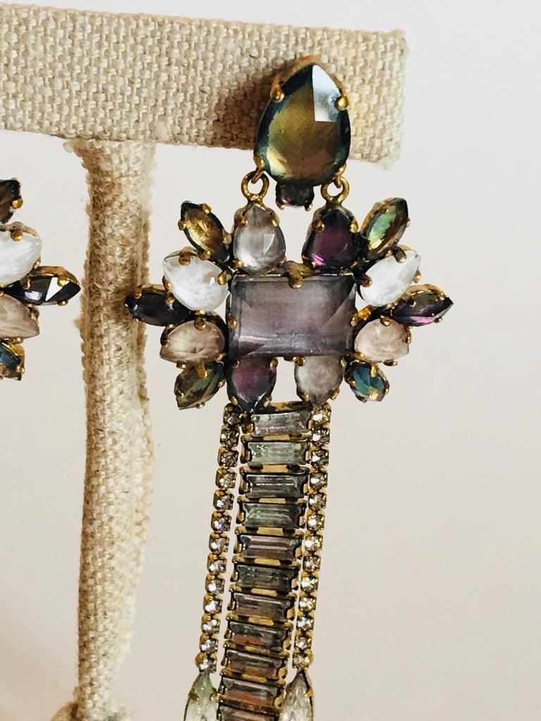 Erickson Beamon 'Sound Garden' Earrings For Sale 1