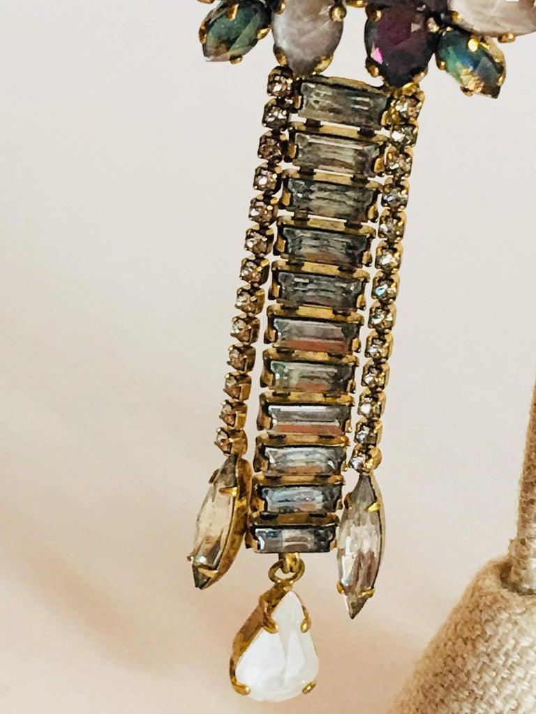 Erickson Beamon 'Sound Garden' Earrings For Sale 2