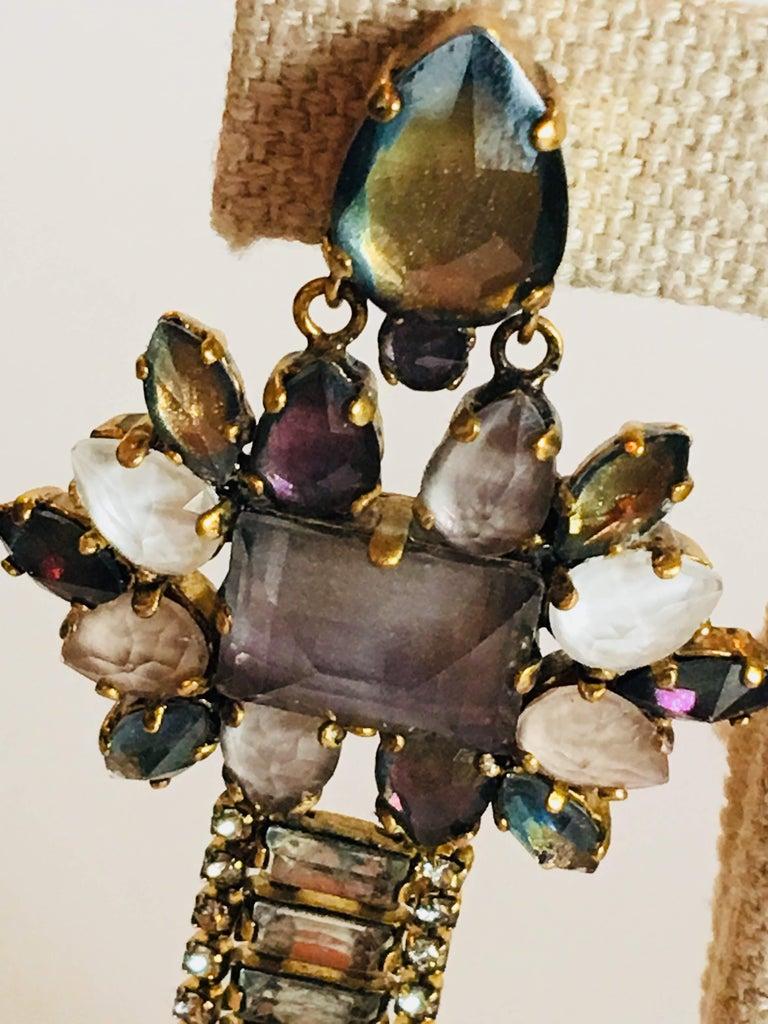 Erickson Beamon 'Sound Garden' Earrings For Sale 3