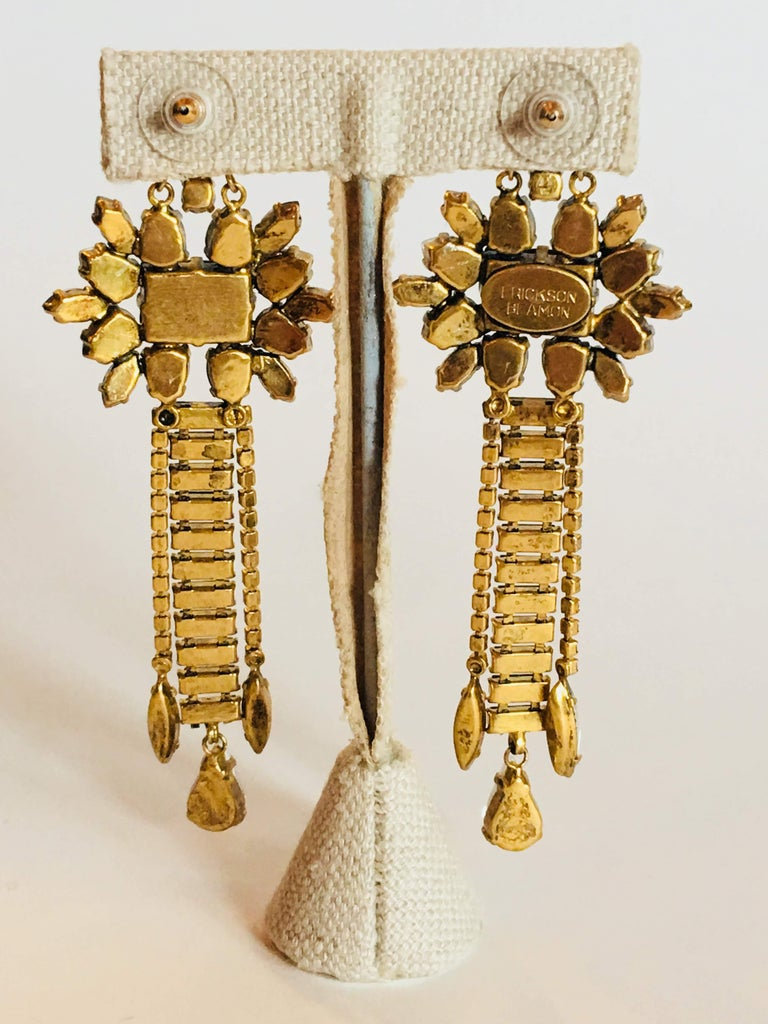 Erickson Beamon 'Sound Garden' Earrings For Sale 4