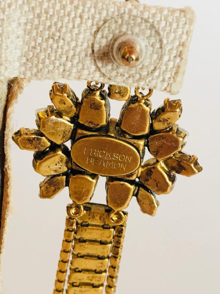 Erickson Beamon 'Sound Garden' Earrings For Sale 5